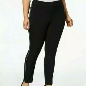 INC International Concepts Black Stretch Legging